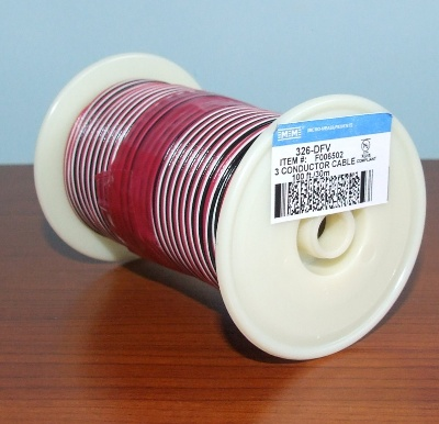 326-DFV 3 WIRE CABLE